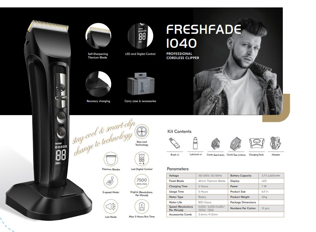 קליפר JRL FreshFade 1040