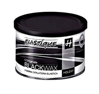 Hot elastic wax