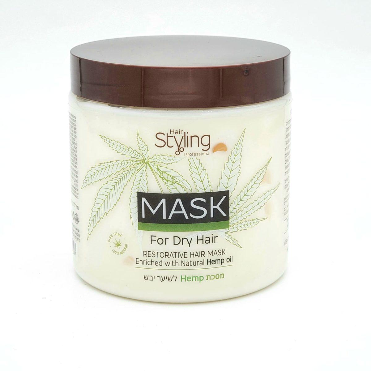 Cannabis hair mask