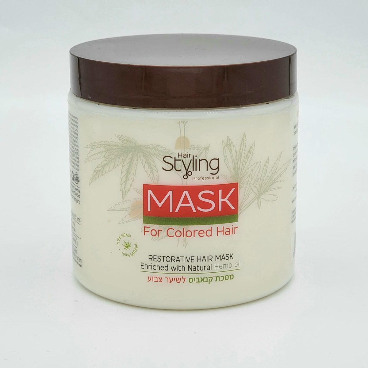 Cannabis mask for dyed hair