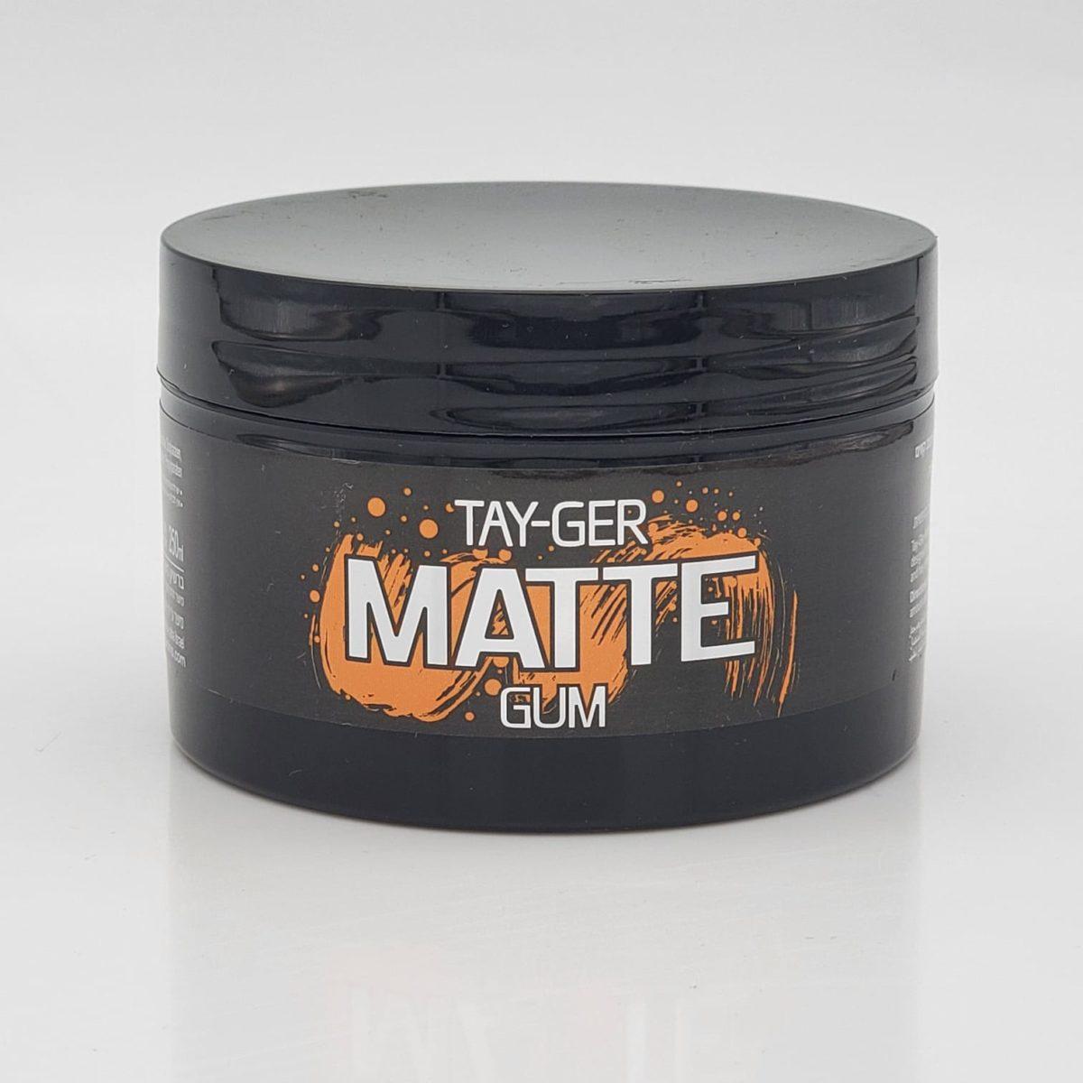 MATTE GUM TAY-GER ווקס