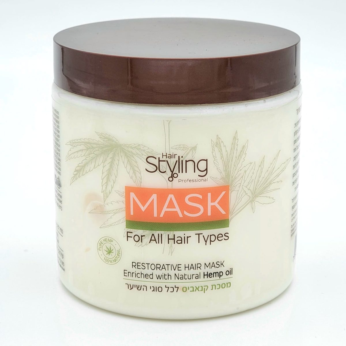 Cannabis mask for all hair types.