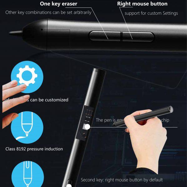 לוח גרפי + עט