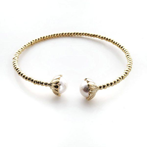 צמיד פנינת הים גולדפילד זהב